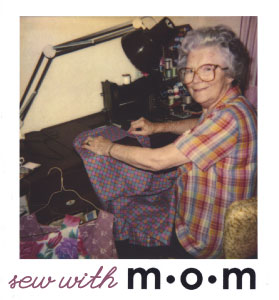 Sew with mom
