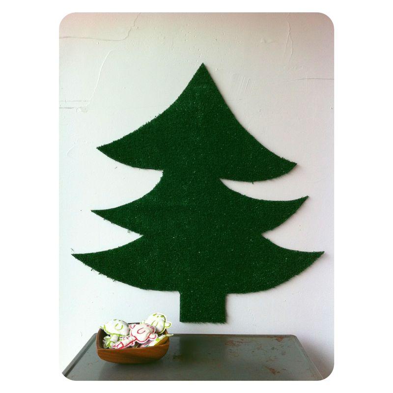 astro turf classic christmas tree
