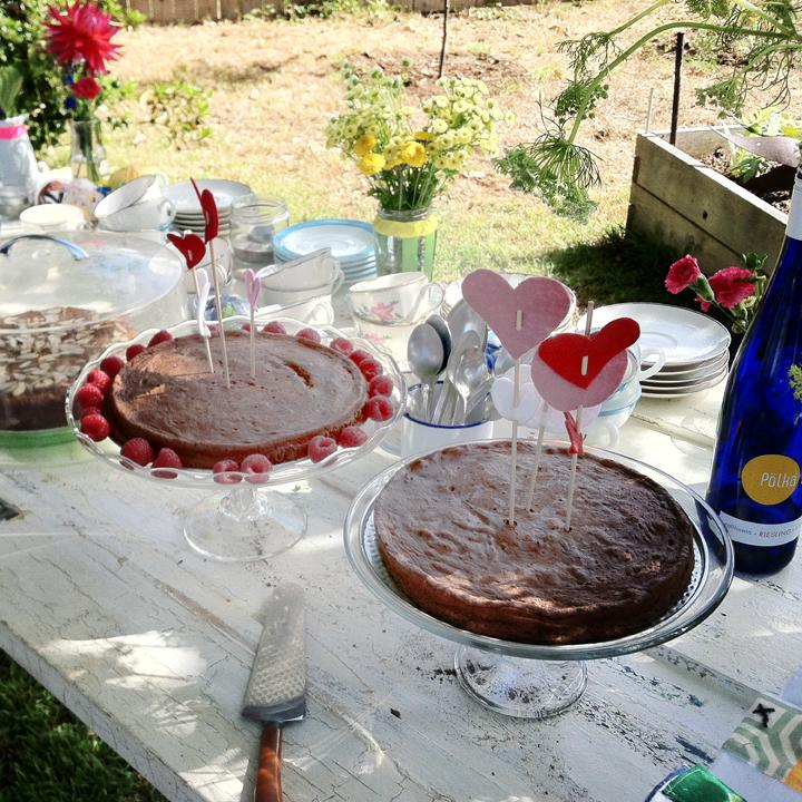 Wedding Day dessert
